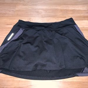 Champion skirt/ with biker shorts underneath